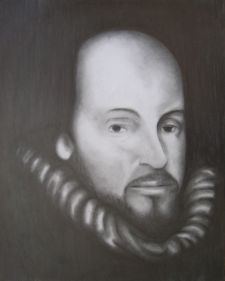 shakespeare drawing  by luke dixon